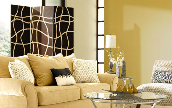 Living Room Contemporary Paint Colors Design